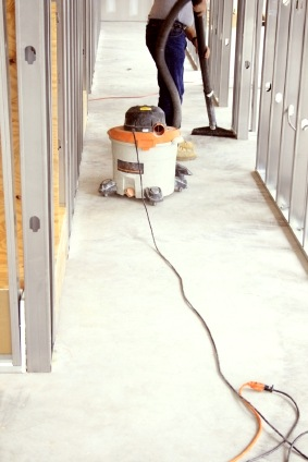 Construction cleaning by BCR Janitorial Services, Inc.