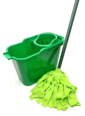 Green cleaning by BCR Janitorial Services, Inc.